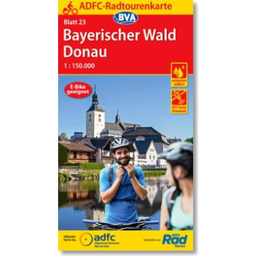 Blatt 23 Bayerischer Wald/Donau