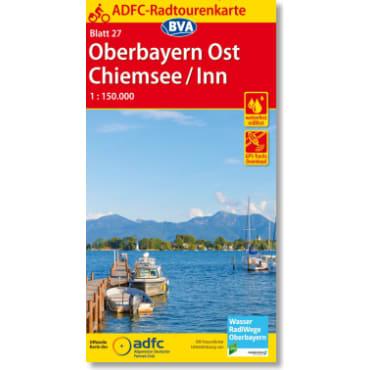 Blatt 27 Oberbayern Ost/Chiemsee/Inn