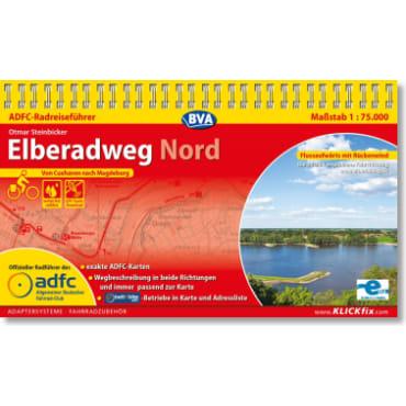 Cover: Elberadweg Nord ADFC-Radreiseführer