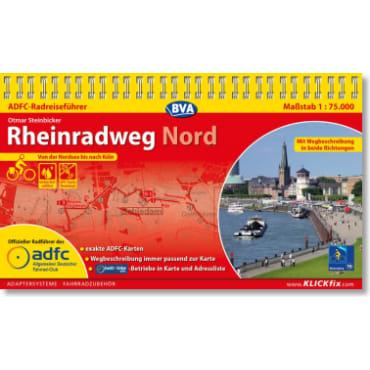 Rheinradweg Nord ADFC-Radreiseführer