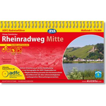 Rheinradweg Mitte ADFC-Radreiseführer