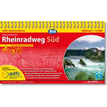 Rheinradweg Süd ADFC-Radreiseführer