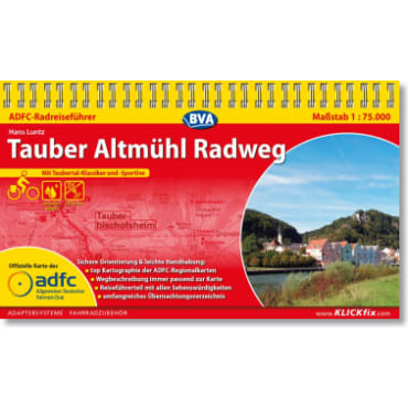 Tauber Altmühl Radweg ADFC-Radreiseführer