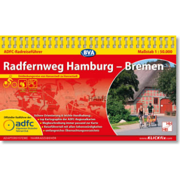 Hamburg-Bremen Radfernweg ADFC-Radreiseführer