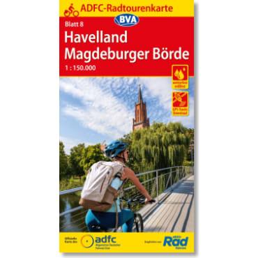 Blatt 08 Havelland/Magdeburger Börde