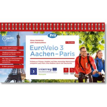 EuroVelo3 Aachen-Paris ADFC-Radreiseführer