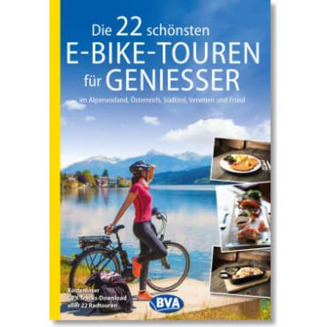 Cover: Die 22 schönsten E-Bike Touren für Genießer