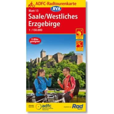 Blatt 13 Saale/Westliches Erzgebirge