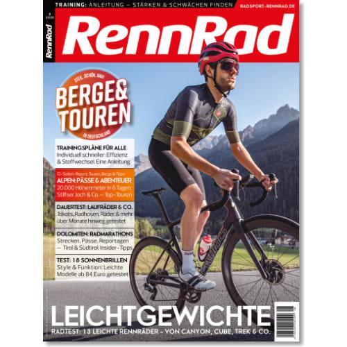 Cover: RennRad 8/2020