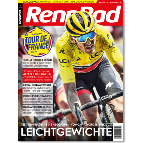 Cover: RennRad 7/2019