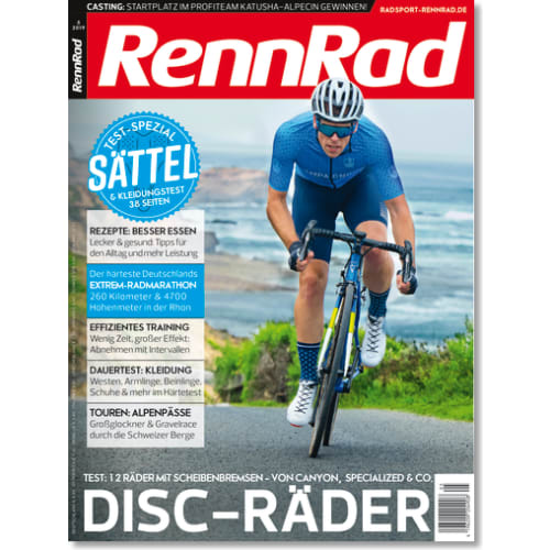 Cover: RennRad 5/2019
