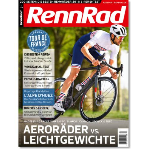 Cover: RennRad 7/2018
