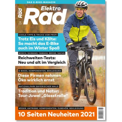 Cover: ElektroRad 8/2020