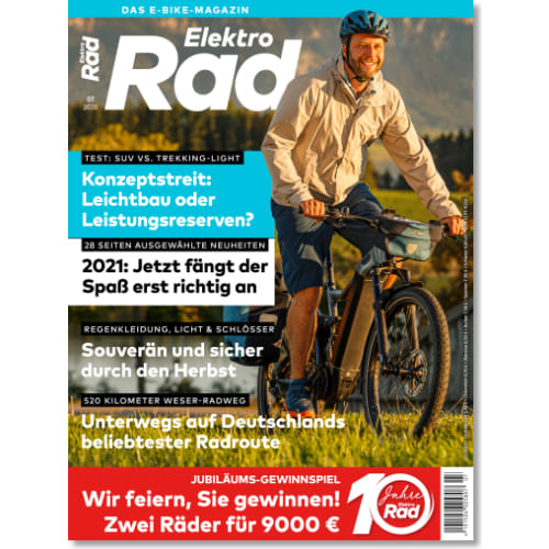 Cover: ElektroRad 7/2020