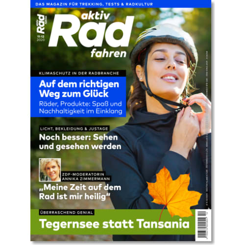 Cover: aktiv Radfahren 11-12/2020