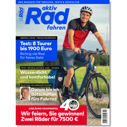 Cover: aktiv Radfahren 9-10/2020