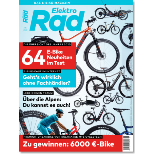 Cover: ElektroRad 1/2020