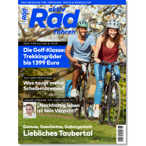 Cover: aktiv Radfahren 6/2020