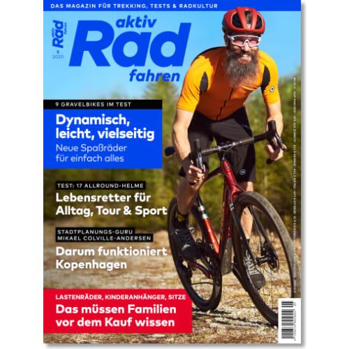 Cover: aktiv Radfahren 5/2020