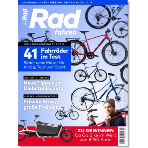 Cover: Radfahren 1-2/2021