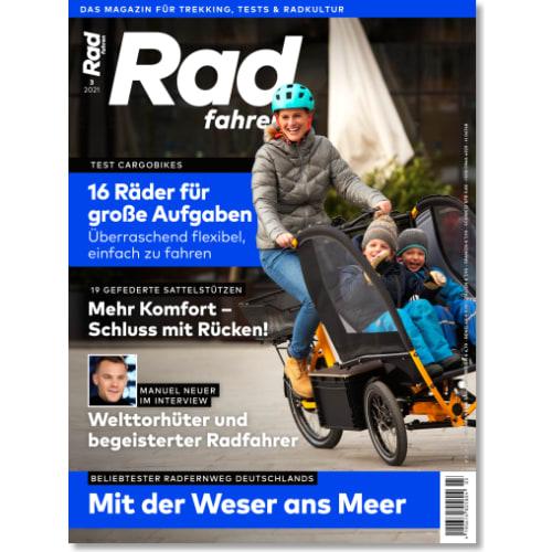 Cover: Radfahren 3/2021