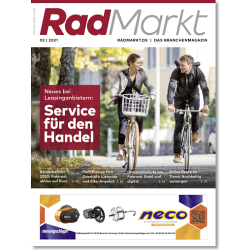 Cover: RadMarkt 2/2021