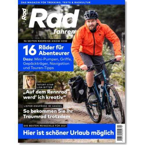 Cover: Radfahren 4/2021