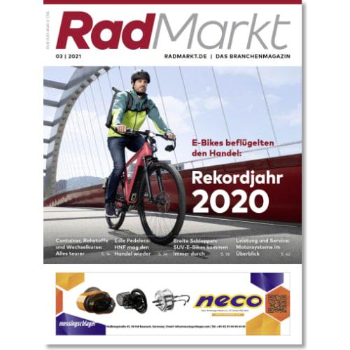 Cover: RadMarkt 3/2021