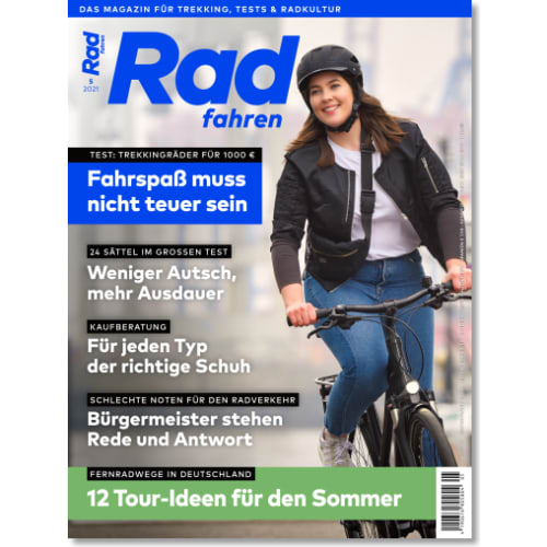 Cover: Radfahren 5/2021