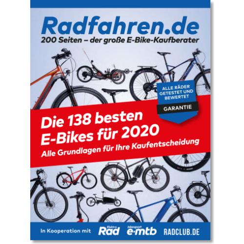 Cover: Radfahren.de: E-Bike-Kaufberater 2020