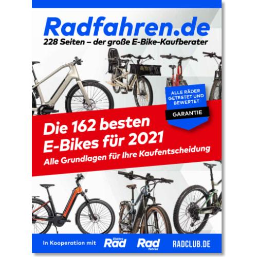 Cover: Radfahren.de: E-Bike-Kaufberater 2021