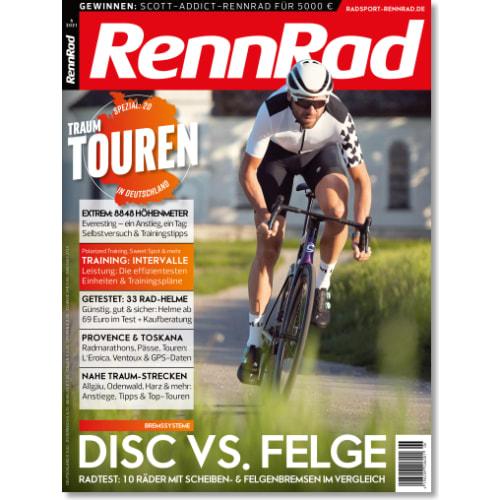 Cover: RennRad 6/2021