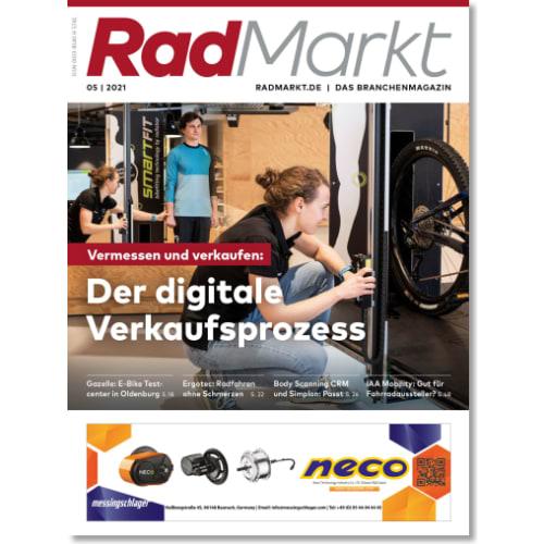 Cover: RadMarkt 5/2021