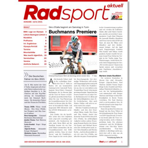 Cover: Radsport 13-14/2021