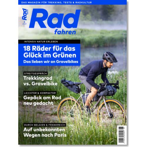 Cover: Radfahren 6/2021