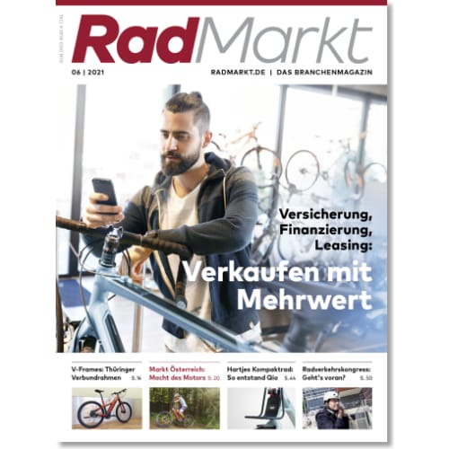 Cover: RadMarkt 6/2021