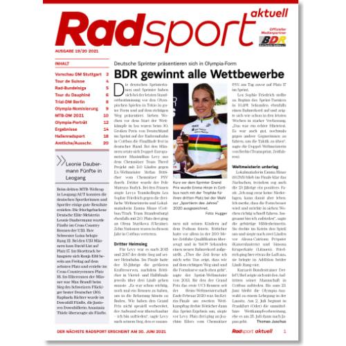 Cover: Radsport 19-20/2021