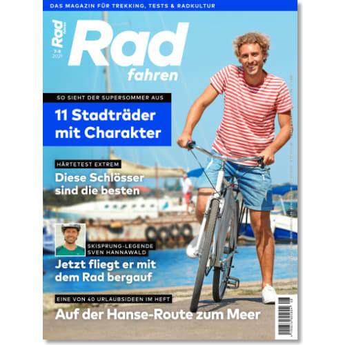 Cover: Radfahren 7-8/2021