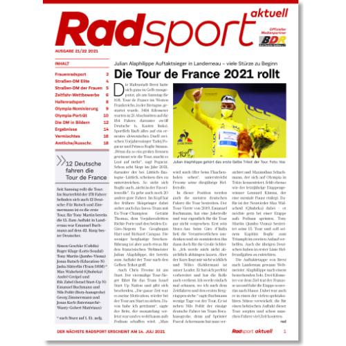 Cover: Radsport 21-22/2021