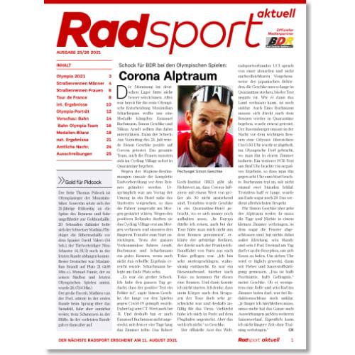 Cover: Radsport 25-26/2021