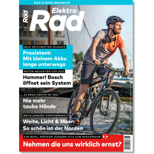 Cover: ElektroRad 6/2021