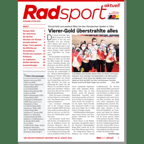 Cover: Radsport 27-28/2021
