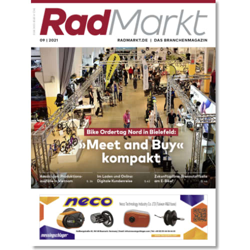 Cover: RadMarkt 9/2021