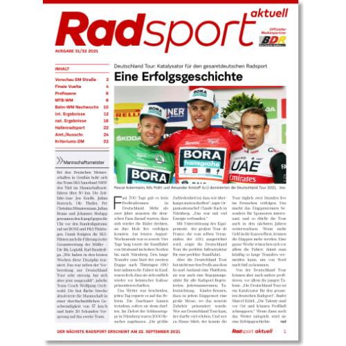 Cover: Radsport 31-32/2021