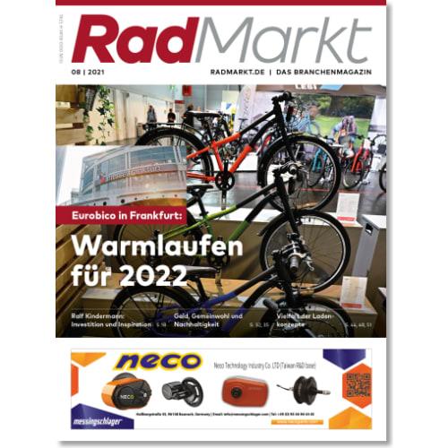 Cover: RadMarkt 8/2021