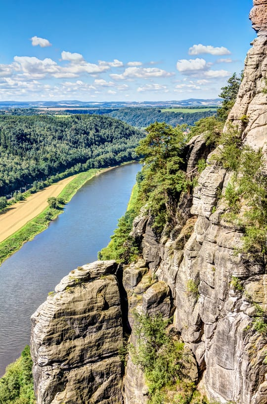 Das Elbsandsteingebirge