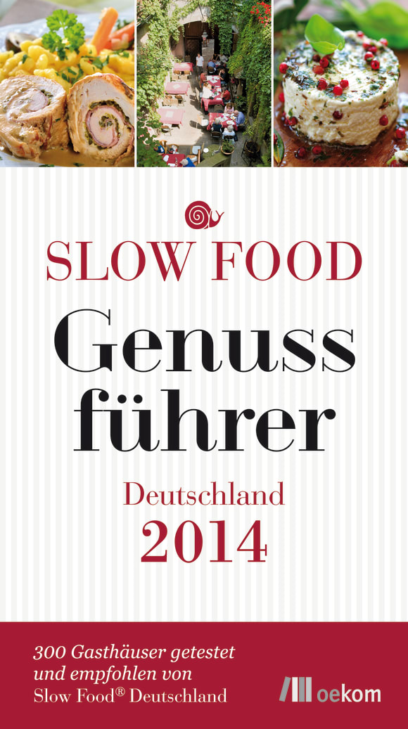 Cover: Slow Food Genussführer Deutschland 2014