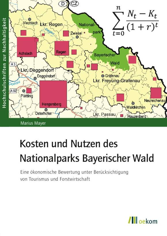 Cover: Kosten und Nutzen des Nationalparks Bayerischer Wald