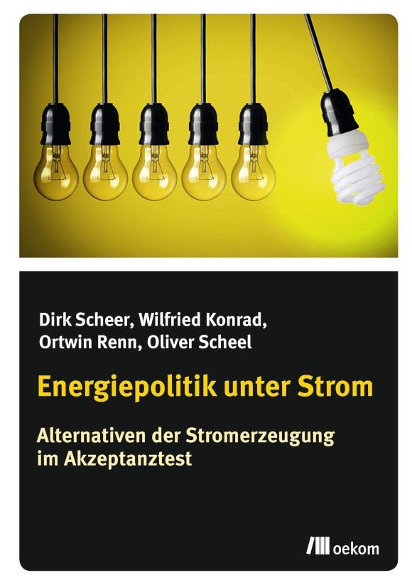 Cover: Energiepolitik unter Strom