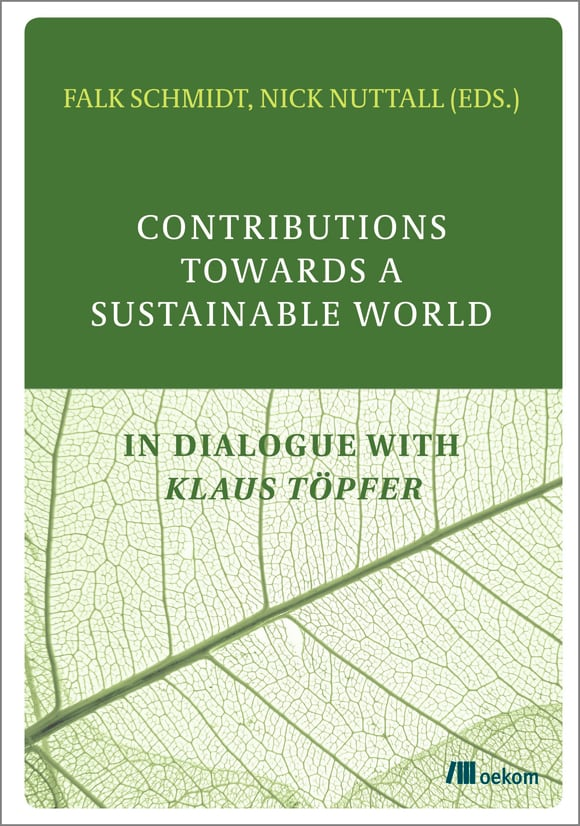 Cover: Contributions Towards a Sustainable World
